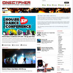 OneCypher.com Street Dance Website