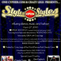 3/27: Styles Upon Styles SF