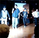 "Groovmekanex performance at ""Burn This Disco Out"""