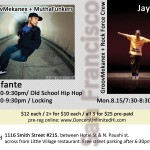 Locking/Hip-Hop Workshops @ The ArtSmith, Hawaii