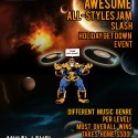 12/22: Dennis Infante's $500 Mega Ultimate Awesome All Styles Jam Slash Holiday Get Down Event