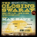 4/14: Needle to the Groove Closing Swaray Event
