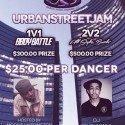 3/15: Urban Street Jam 2014: 2v2 $500 Open Styles Battle