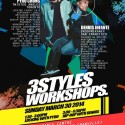 The 3STYLES Workshops, Vancouver