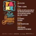 FAME SS 2014: Hello, Summer