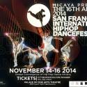 SF Int'l Hip-Hop Dance Fest 2014