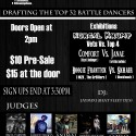 2/21: Legends In The Making: Open Style Dance Battle League (Draft Day)