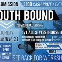 11/21: South Bound (ATL) : 1v1 House, 1v1 Bboy, 1v1 All-Styles