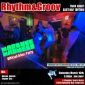 3/16 – Rhythm&Groov: East Bay Edition x GMx 20th Anniv Fundraiser