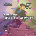 4/2: Str8jacket Presents: 90's Hip-Hop Workshop w/ Dennis Infante